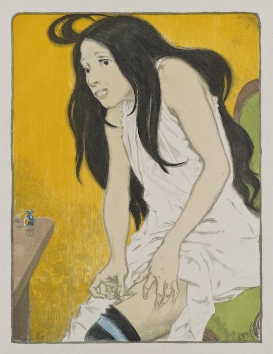 «Морфинистка» Эжена Грассе («The Morphine Addict», Eugene Grasset), 1897