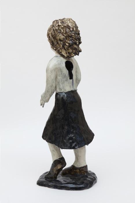 Женщина с замочной скважиной