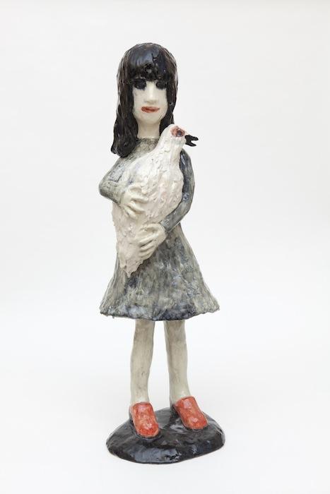 Девочка с гусём