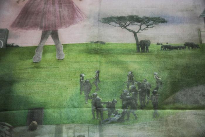 Создание фрески заняло у Краймса 3 года