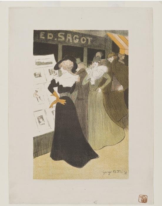 George Bottini, Sagot's Lithography Gallery (Галерея литографий Саго), 1898