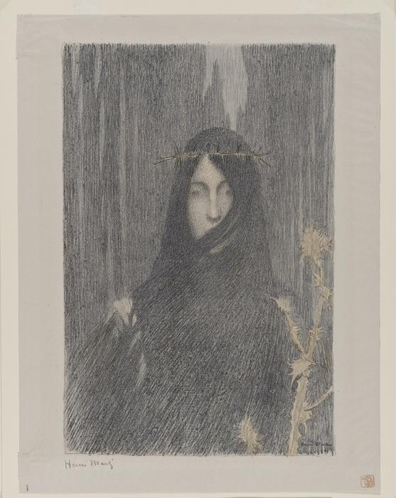 «Тишина» Анри Жана Гийома Мартэна («The Silence», Henri Jean Guillaume Martin), 1894 - 1897