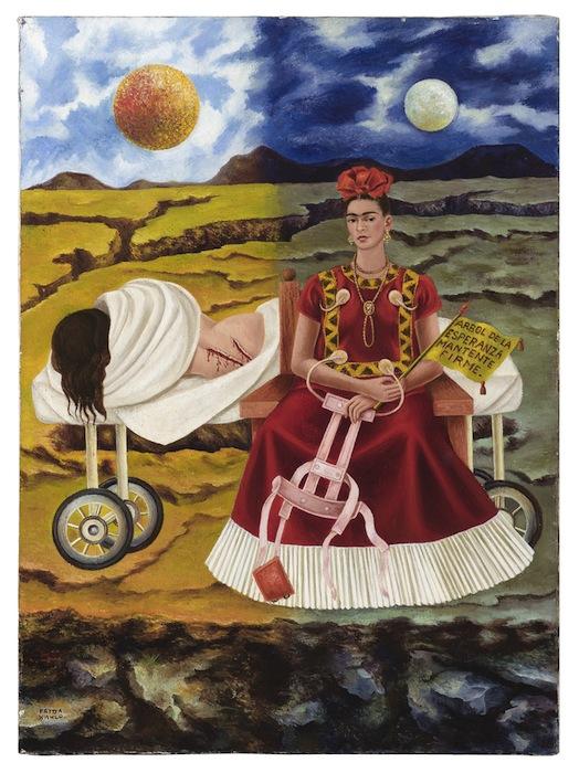 Frida Kahlo, Arbol de la Esperanza (Дерево надежды)