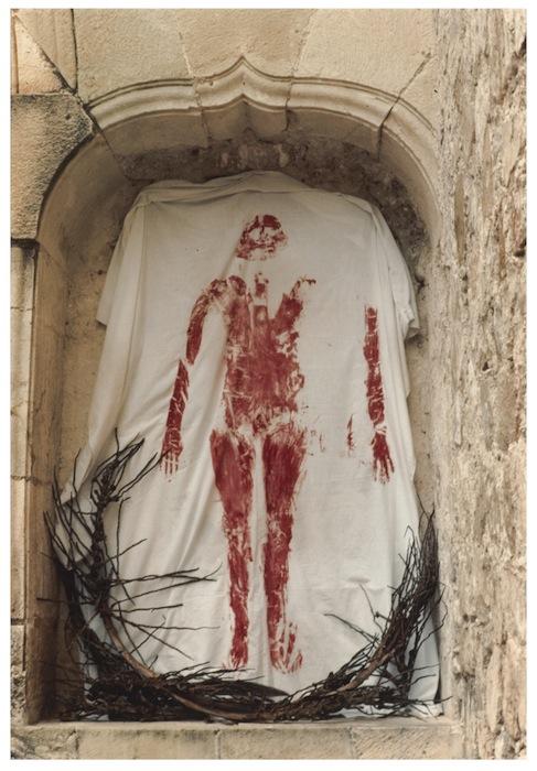 Ana Mendieta, Untitled (from the Silueta series), 1973-77