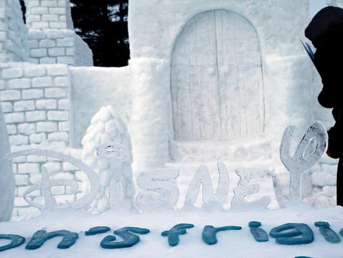 Зимний карнавал в Мичеганском технологическом университете