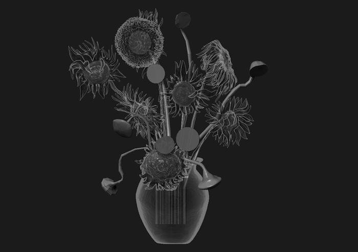 «Подсолнухи» (2013), 3D модель