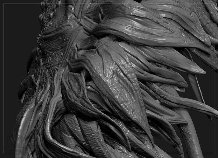 «Подсолнухи» (2013), фрагмент рендера