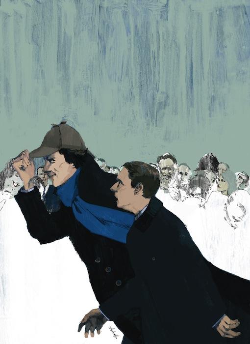 «Шерлок». Марк Аспиналл для журнала «Нью-Йоркер»