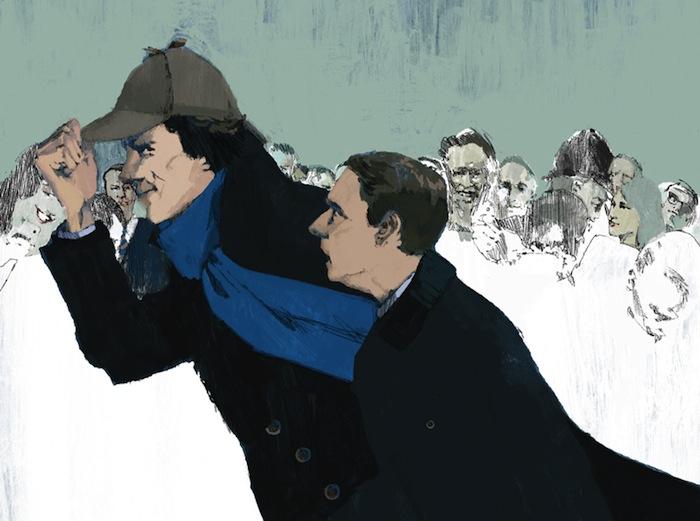 Шерлок (фрагмент). Марк Аспиналл для журнала «Нью-Йоркер»