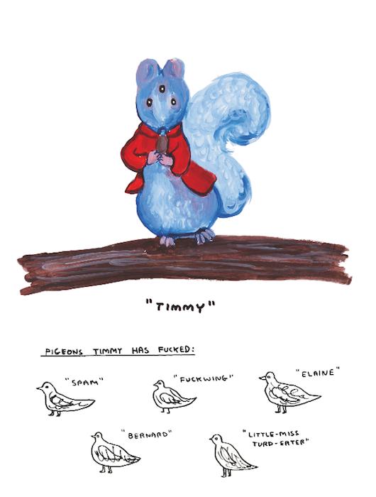 Тимми и оскверненные голуби