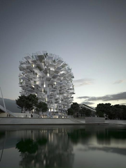 «Белое дерево» («L'Arbre Blanc») построят в Монполье — одном из крупнейших городов на юге Франции