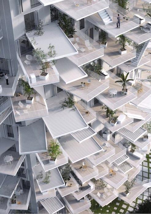 «Главная отличительная особенность проекта — это огромное количество просторных террас и открытых балконов