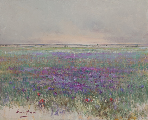 Роман Францес, 'Lavender', пастель, Испания