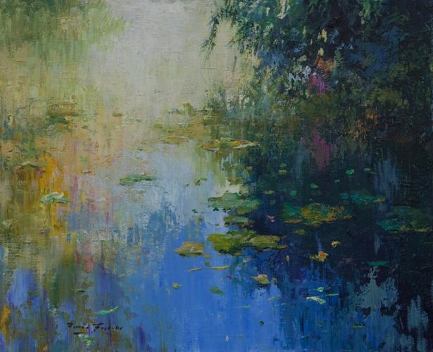 Роман Францес, 'Modern Pond', Испания