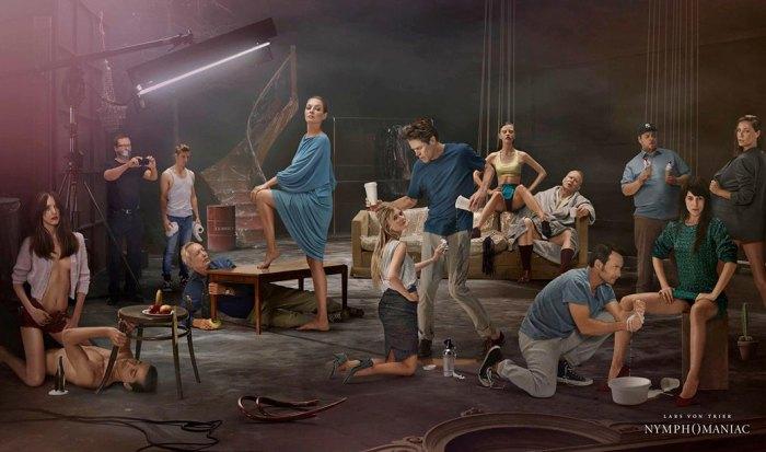Постер фильма «Нимфоманка»