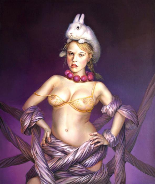 Такое ощущение, будто у меня на голове кролик (It feels like a rabbit on my head by Lilia Mazurkevich)