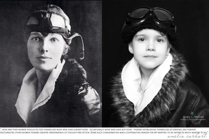 Амелия Мэри Эрхарт (Amelia Mary Earhart) - известная американская писательница.