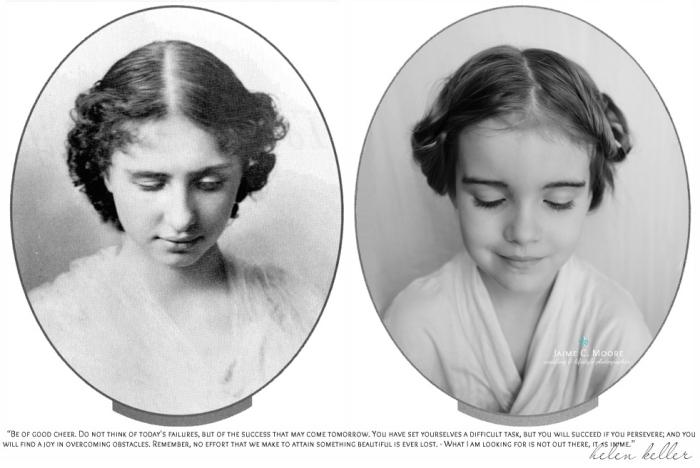 Хелен Адамс Келлер (Helen Adams Keller) - слепоглухая американская писательница, общественный деятель.