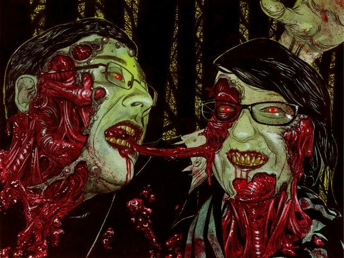 Зомби-иллюстрация от Роба Сачетто