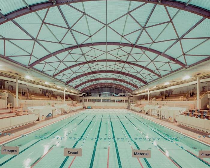Безмятежные фотографии общественных бассейнов