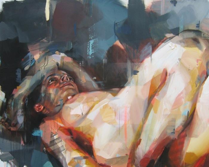 Абстрактные картины, автор - Паскаль Виколлет