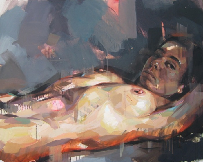 Абстрактные картины, автор - Pascal Vilcollet