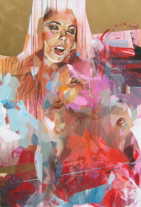 «Filles du Calvaire» - новая серия работ французского художника Pascal Vilcollet