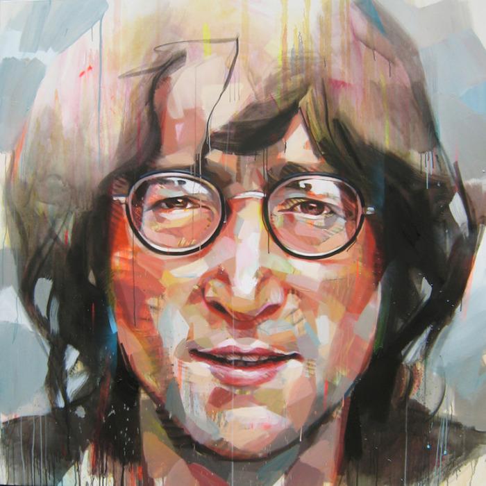 Джон Леннон, автор - Паскаль Виколлет