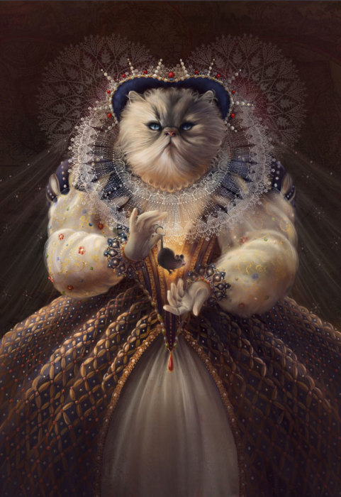 �������� - Cat Queen, ����� Christina Hess