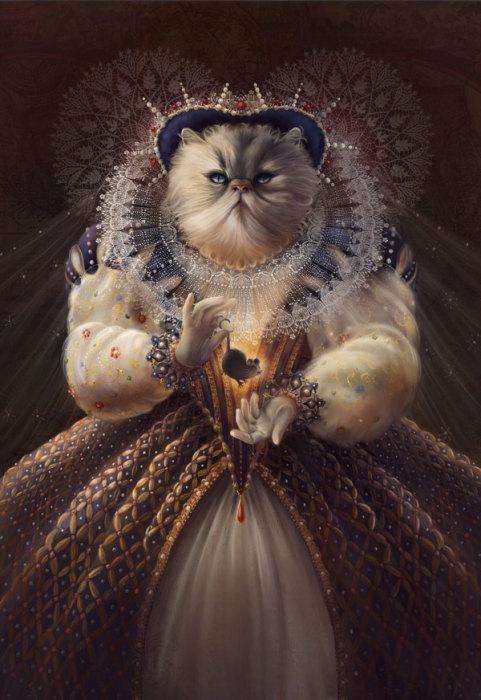 Королева - Cat Queen, автор Christina Hess