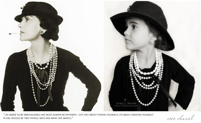 Коко Шанель (Coco Chanel) - основательница модного дома Chanel