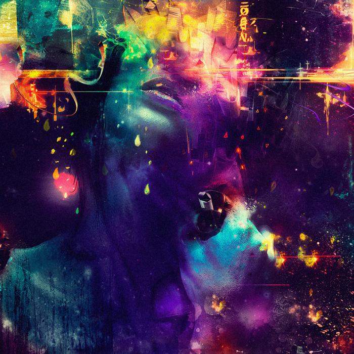Психоделические работы, автор - Diego L. Rodriguez