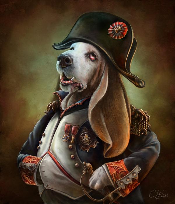 Наполеон Бонапарт - Napoleon Boneaparte, автор  Christina Hess)