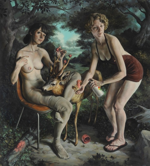 Аллегории добродетелей и пороков в работах художника-сюрреалиста Erik Thor Sandberg