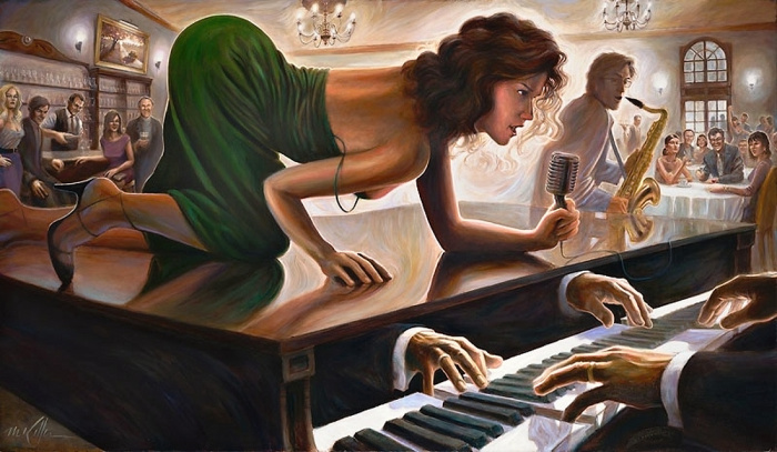 Отголоски мелодий, автор - Mark Keller