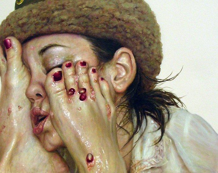 Шокирующие картины от Моники Кук (Monica Cook)