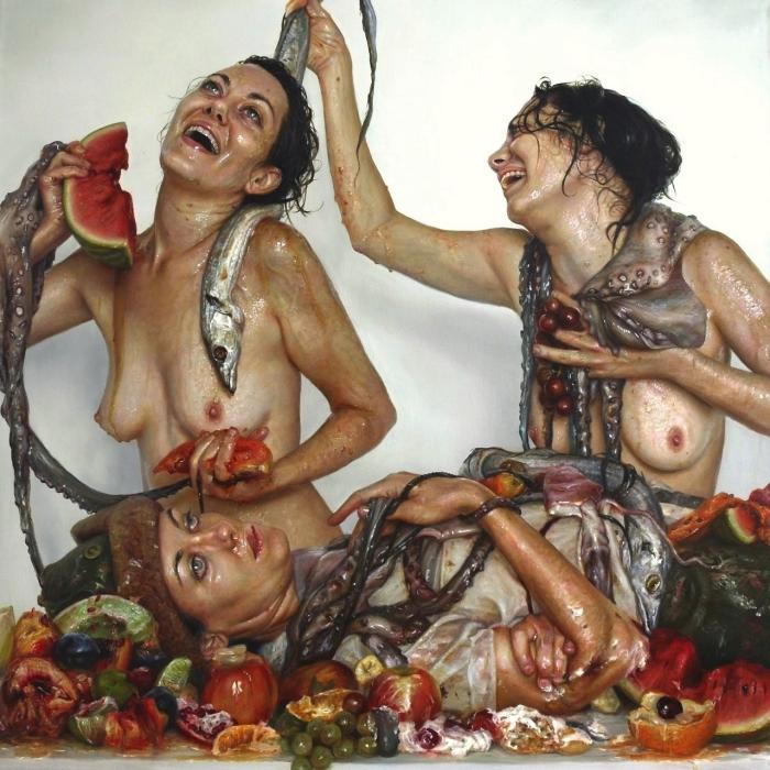 Праздник урожая, автор - Моника Кук (Monica Cook)