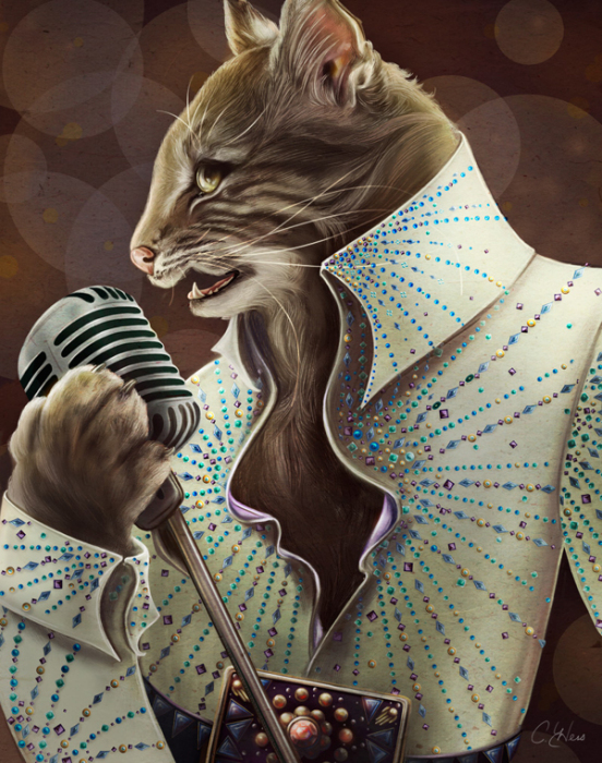 Элвис Пресли - Elvis Petme, автор  Christina Hess
