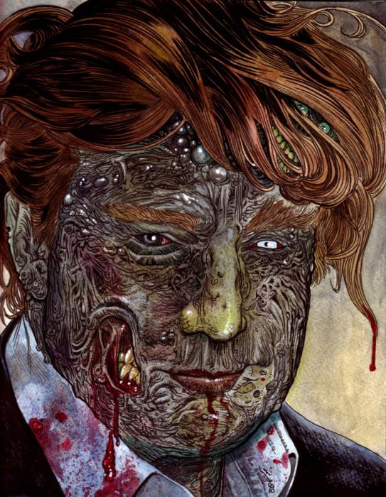 Иллюстрации с зомби от Роба Сачетто