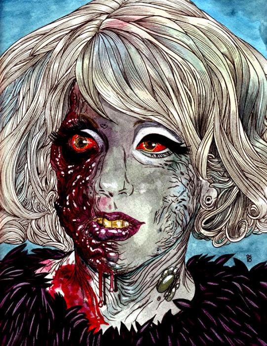 Зомби Леди Гага, автор - Роб Сачетто