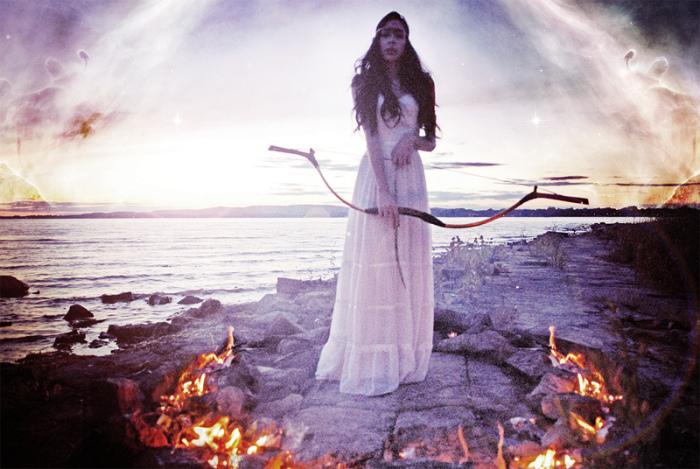 Магические фотографии Софии Айрам (Sofia Ajram)