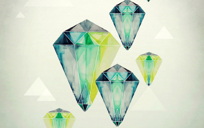 Потрясающие картины минералов от Карины Эйбатовой (Karina Eibatova).