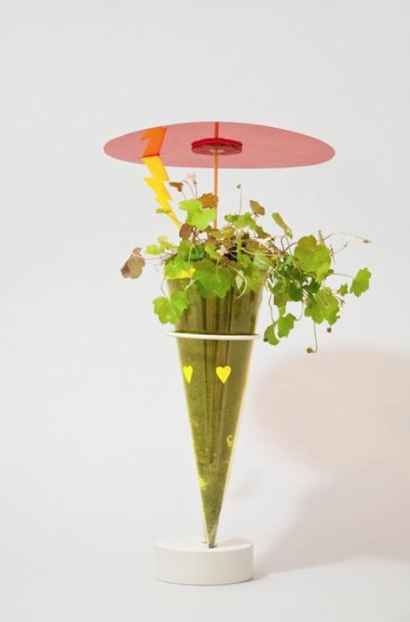 Поделки из бумаги, ткани и растений от The Studio Fludd.