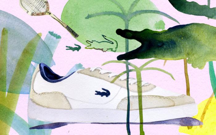 Картина Lacoste от художника Марселя Джорджа (Marcel George).