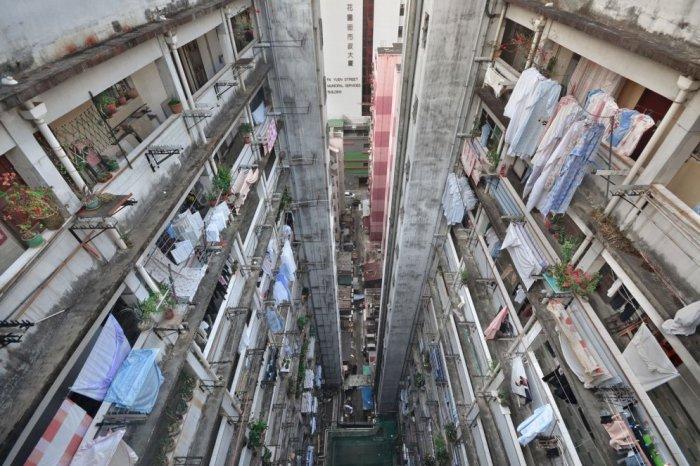 Серия завораживающих фотографий Гонконга.
