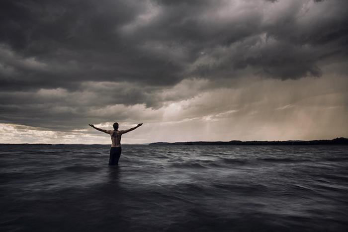 Мистические пейзажи от финского фотографа.