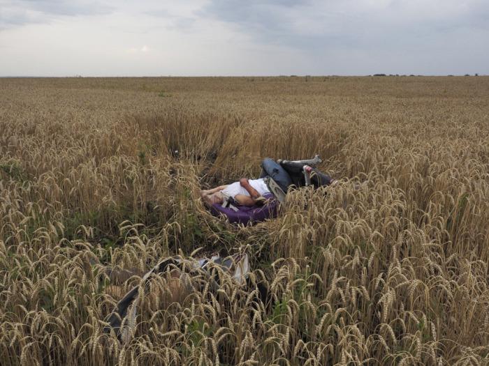 Фотограф Jerome Sessini, Украина, июль 2014 года.