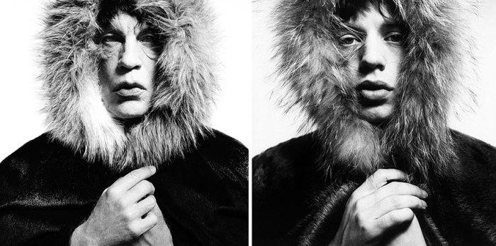 Сандро Миллер, Дэвид Бейли / Мик Джаггер в меховом капюшоне (1964 год), 2014 год.