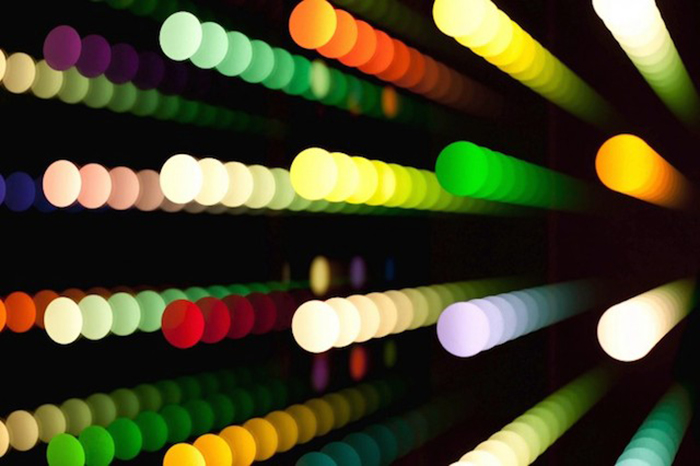 Гипнотические световые манипуляции Чул Хён Ан (Chul Hyun Ahn).
