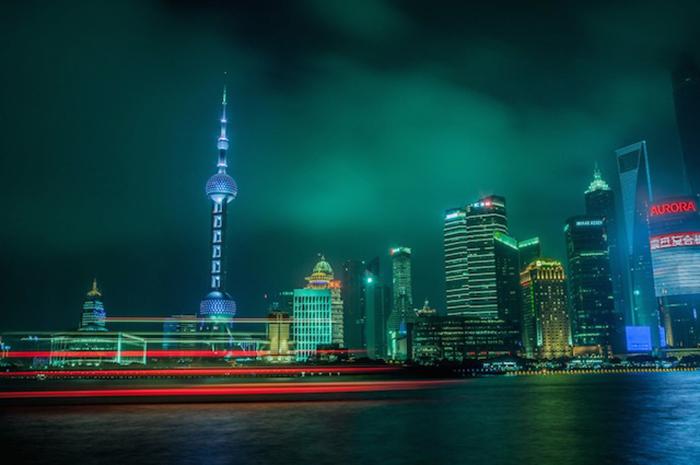 Шанхай - город контрастов. Впечатляющий фото-проект от Николаса Джандрейна (Nicolas Jandrain).